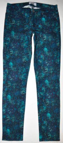 Ankel Jeans Målinger L29 Paige Skyline W29 Stretch Peg Faktiske Floral wITTEnxq7C