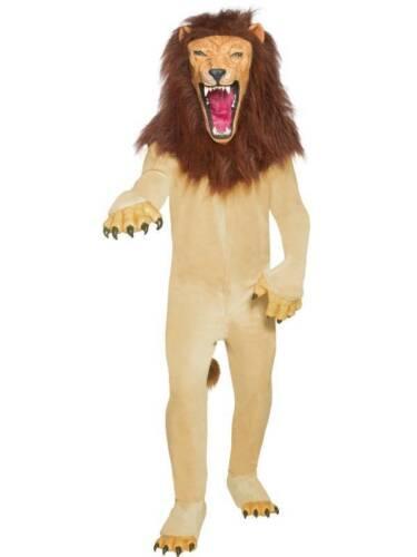 COSTUME LEONE VIZIOSO TG.M Uomo Carnevale Travestimento Animali Lion 110 34286M