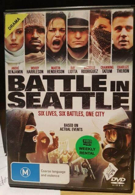 Battle In Seattle (DVD, 2009) Ex-Rental - Free Postage