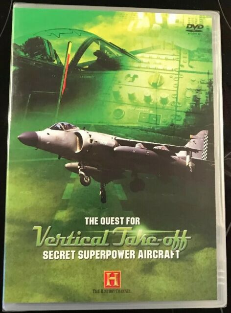 Secret Superpower Aircraft - Quest For Vertical Take-Off (DVD, 2006)