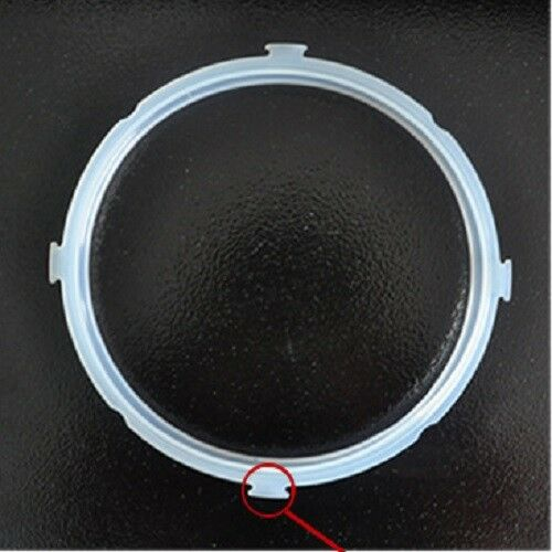 Replacement Rubber Electric Pressure Cooker Parts Sealing Ring Gasket 4//5//6L GEM