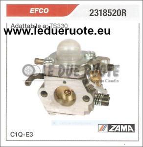 2318520R CocheBURATORE A MEMBRANA C1Q - E3 EFCO TS330 ZAMA