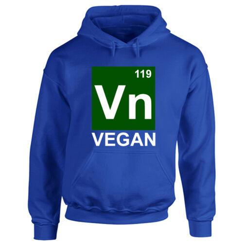 Vegan Hoodie Veggie Diet Animal Lover Funny Activist Adult Mens Ladies Hooded