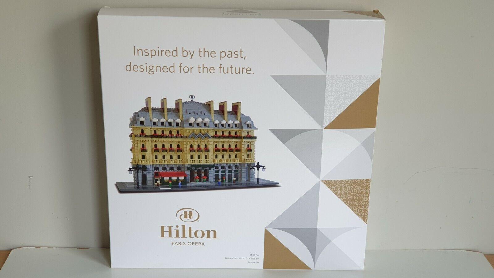 Lego Lego Lego Certified Professional Hilton Paris Opera Modular very rare 80d921