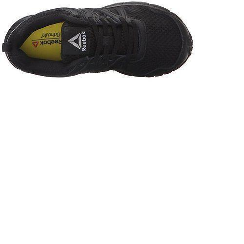 Reebok Run Supreme 2.0 Black Running Shoes Kids Boy Girl Size 11-3 Original New