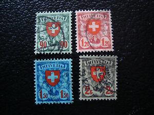 Switzerland-Stamp-Yvert-and-Tellier-N-208-A-211-Obl-A7-Stamp-Switzerland