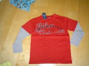 SO-11-Camisa-rojo-de-Mills-Talla-128-164