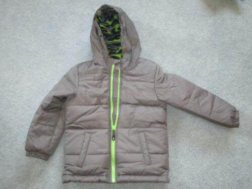 Toddler Wonderkids Boys Boy Grey Gray Neon Green Fall Winter Coat Jacket