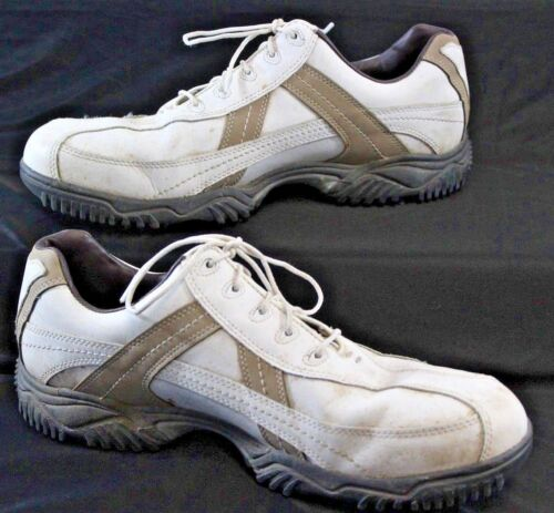 FootJoy Contour Seris #54118 White and Tan Golf Sh