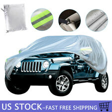 Waterproof Car Cover For Jeep Wrangler Yj Tj Jk Jl 2 Door All Weather Protection