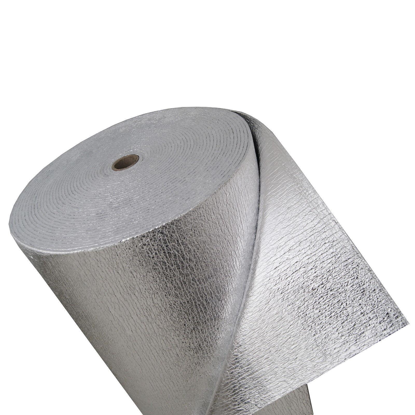 /& Dampfresistent- 3 lagig 100cm x 50m Wasser Thermofolie ALU