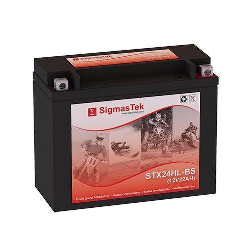 1985-1986 Replacement Battery By SigmasTek Suzuki 250CC LT250EF QuadRunner