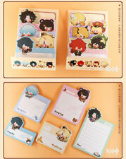 Mihoyo Official Genshin Impact Sticky Notes Xiao Diluc Klee Memo Sticky Note Pad