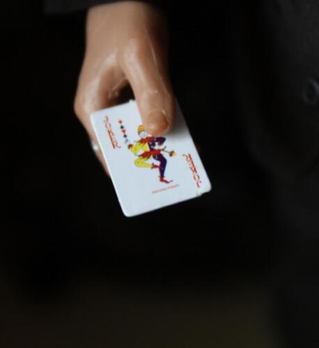 SCALA 1//6 Poker Carte da gioco per JOKER STADIO proprietà Toys Phicen noi Hot venditore