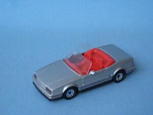 Feux arrières Matchbox Cadillac Allante Large Inédits Rare Pre-Pro Silver