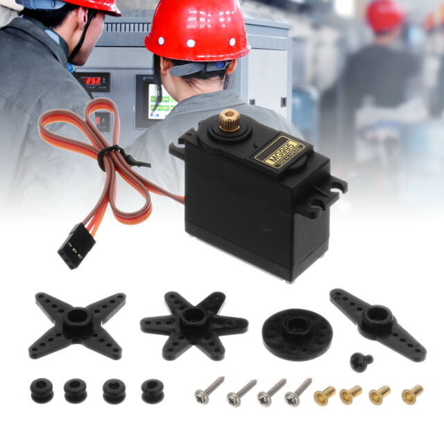 MG995 360° High Torque Metal Gear RC Servo Motor For Boat Helicopter Car Set Kit