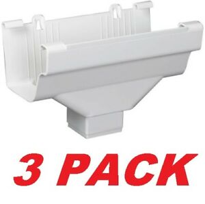 3 Amerimax Traditional Drop Outlet Rainwater Funnel 5 X 9