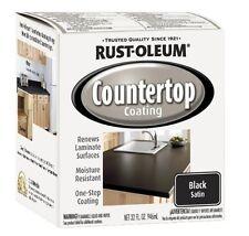 RustOleum 263209 Countertop Coating Premix, 32Ounce Kit, Black, New