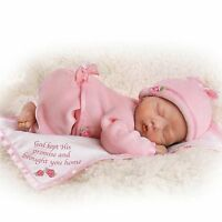 Ashton Drake God's Tiny Miracles Lifelike Newborn Baby