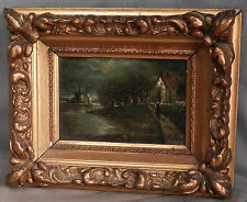 J Capello Old Master Style GEM Oil Painting Baroque Gilt Gesso Picture Frame OLD