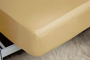 200 Thread Count Fitted Sheet 28cm in Polycotton Single Size in Honeydew - BRADFORD, West Yorkshire, United Kingdom - 200 Thread Count Fitted Sheet 28cm in Polycotton Single Size in Honeydew - BRADFORD, West Yorkshire, United Kingdom
