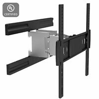 Full Motion Low Profile Wall Mount For Small Tv (32 37 40 42)inch Lcd Led Uhdtv