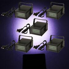 5 x Mini DJ Strobe Light Flash Light 24 LED Bulb Club Stage Lighting Party Disco