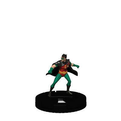 Heroclix Batman the Animated Series Robin #029 Uncommon w// Card