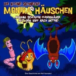 DIE-KLEINE-SCHNECKE-MONIKA-HAUSCHEN-07-WARUM-SCHLAFEN-FLEDERMAUSE-CD-NEU