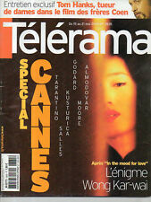 telerama  n°2835 cannes wong kar-wai paladins de rameau