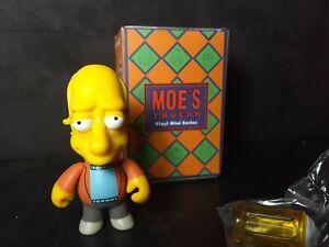 Kidrobot The Simpsons Moes Tavern Vinyl Mini Series Carl NEW