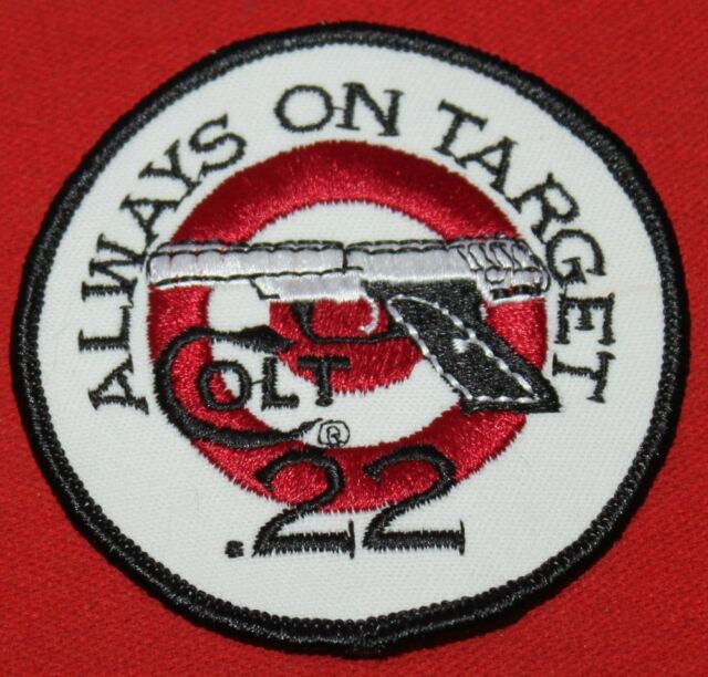 COLT FIREARMS FACTORY Colt .22 Always on Target Patch 1995