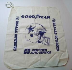 Goodyear-Dallas-Cowboys-Vintage-1988-Grease-Rag-Oil-Change-Token-1988