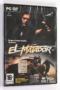 Gioco-PC-EL-MATADOR-2006-Blue-Label-ITALIANO-NUOVO-SIGILLATO