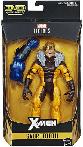 Marvel Legends ~ Sabretooth Action Figure ~ BAF Apocalypse ~ X-MEN SERIES 3