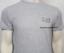 Nuevo-Emporio-Armani-Mangas-Cortas-Escote-Redondo-Camiseta-Para-Hombres miniatura 3