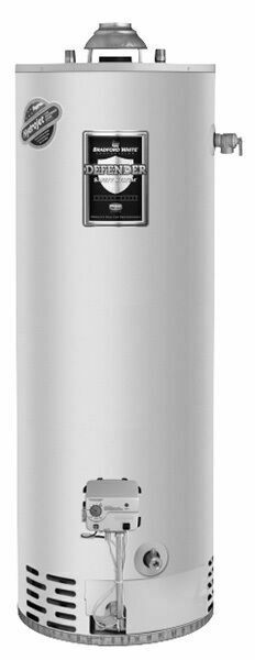 Bradford White Rg240t6n 40gal Tall Atmospheric Vent Natural Gas Water Heater For Sale Online Ebay