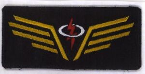 SAAB-Space-Above-amp-Beyond-Embroidered-Squadron-Iron-on-Patch-Angry-Angels