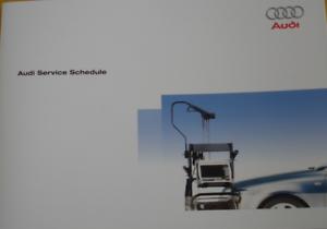 AUDI SERVICE BOOK GENUINE BRAND NEW FOR ALL MODELS PETROL AND DIESEL A4 TDI FSI