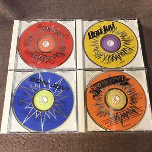 BON-JOVI-Great-Box-JAPAN-ONLY-4CD-PHCR-3007-10-No-OBI-No-BOOKLET-No-3-034-CD