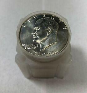 20 - 1976 S Eisenhower Ike Silver Dollar BU Brilliant Uncirculated Roll of 20