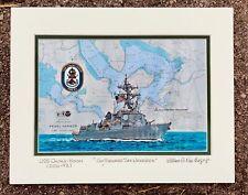 USS NANTAHALA  ART PRINT AO-60 Fleet Oiler WW2 VietNam US Navy Veteran Gift Ship