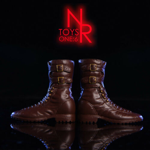 NRtoys 1//6 Male Shoes Fashion Combat Boots Model Fit 12/'/' Solider Action Figure