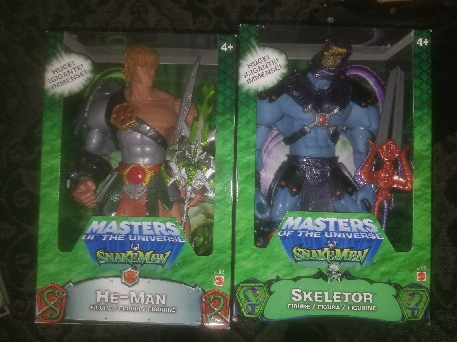 Masters of the Universe 200x 12  He-uomo &  Skeletor cifra Lot  Hordak Sautoe-Glow  ti aspetto