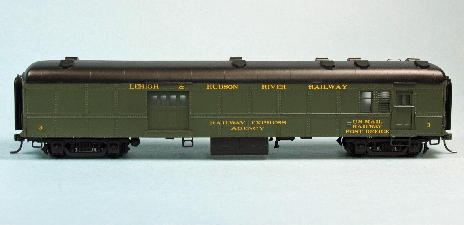 NORFOLK & WESTERN MS3 MAIL STORAGE CAR HO Model Railroad Unpainted Kit BC1432
