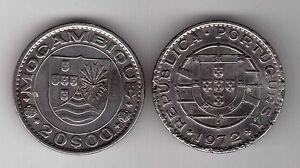 MOZAMBIQUE-20-ESCUDOS-COIN-1972-YEAR-KM-87