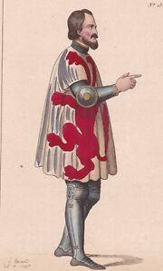 Henri-Comte-de-Luxembourg-d-Arlon-Laroche-Guerre-Succession-du-Limbourg-XIIIe