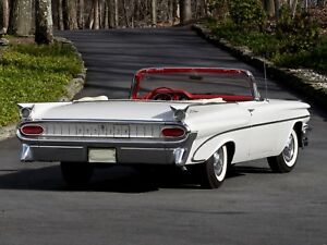 Image Is Loading 1959 Pontiac Catalina Convertible White Refrigerator Magnet 40
