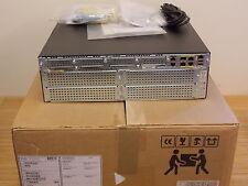 NEW Cisco 3925/K9 ISR2 Router SPE100 1GB DRAM 256MB CFlash Base License NEU OVP