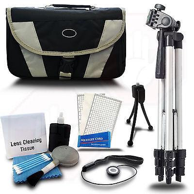 SLR STARTER KIT Case Bag + Tripod + f/ Canon Rebel T2i T3i T4i T5i T6i T5 Camera